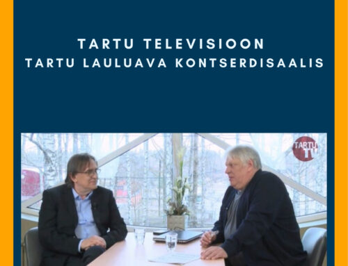 Tartu laululava siseruumides alustas tegevust Tartu Televisioon ja tulevikus saab seal toimuma muudki põnevat